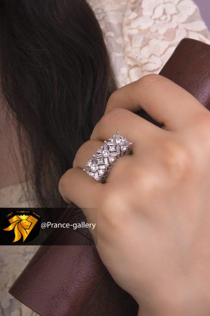 انگشتر جواهری باگد نگین اتریشی