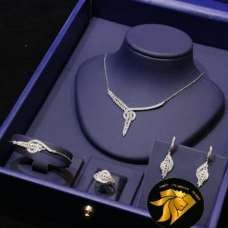 سرویس جواهری نقره 925 عیار استاندارد