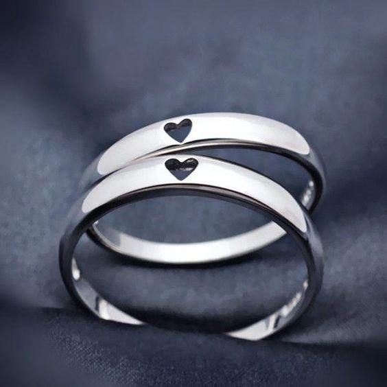 حلقه ازدواج قابل اجرا با طلا، نقره و برنج