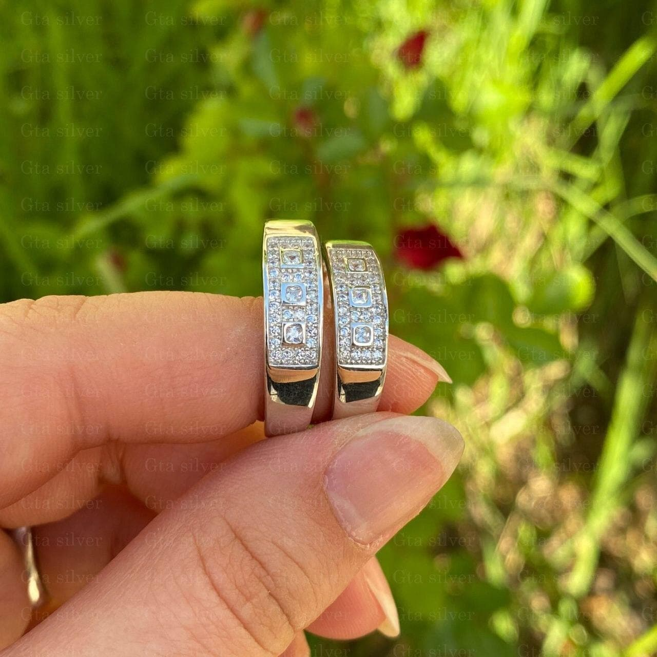 ست حلقه ازدواج مدل 1