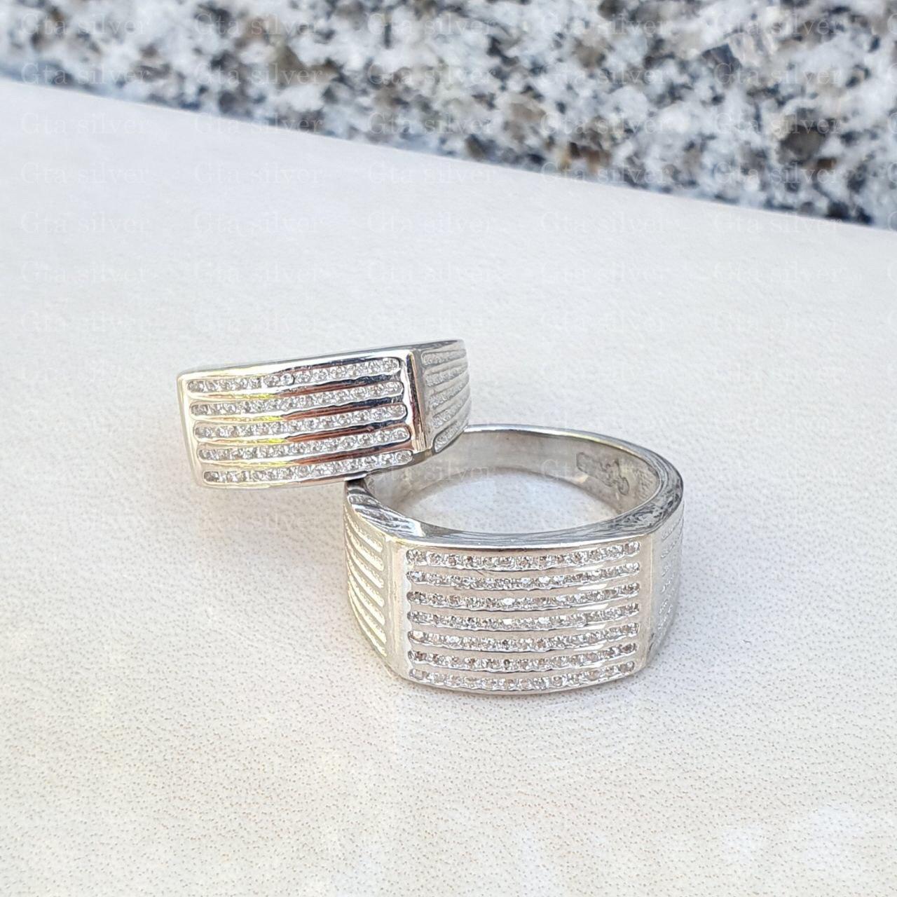 ست حلقه ازدواج وزن 10.5 گرم مدل 49