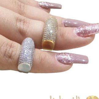 انگشتر جواهری 1000 نگین