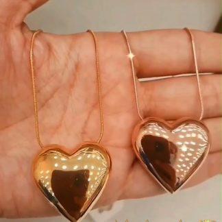 مدال قلب نقره 925